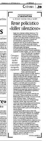 La Sicilia - ritaglio domenica 21 ottobre 2012